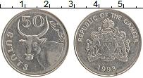 Продать Монеты Гамбия 50 бутут 1998 Медно-никель