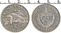 Изображение Монеты Куба 1 песо 1981 Медно-никель UNC-