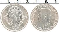 Изображение Монеты Швеция 2 кроны 1950 Серебро UNC