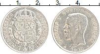 Изображение Монеты Швеция 1 крона 1910 Серебро XF Густав V