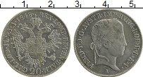 Изображение Монеты Австрия 20 крейцеров 1848 Серебро XF Фердинанд