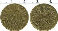 Изображение Монеты Австрия 20 грош 1934 Латунь XF
