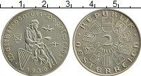 Изображение Монеты Австрия 2 шиллинга 1930 Серебро UNC- Вальтер Фогельвейд