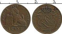 Изображение Монеты Бельгия 1 сантим 1901 Бронза XF