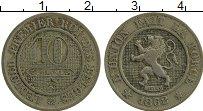 Изображение Монеты Бельгия 10 сантим 1862 Медно-никель XF Леопольд I