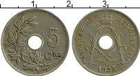 Изображение Монеты Бельгия 5 сантим 1923 Медно-никель XF Альберт I
