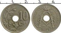 Изображение Монеты Бельгия 10 сантим 1927 Медно-никель XF Альберт I