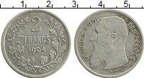 Изображение Монеты Бельгия 2 франка 1904 Серебро XF Леопольд II