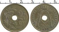 Изображение Монеты Бельгия 25 сантим 1923 Медно-никель XF Альберт I