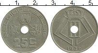 Изображение Монеты Бельгия 25 сантим 1939 Медно-никель XF