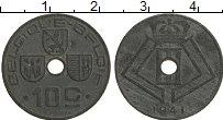 Изображение Монеты Бельгия 10 сантим 1941 Цинк XF Леопольд III
