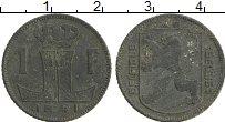 Изображение Монеты Бельгия 1 франк 1941 Цинк XF