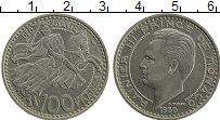 Изображение Монеты Монако 100 франков 1950 Медно-никель XF Раньер III