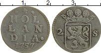 Продать Монеты Голландия 2 стивера 1787 Серебро