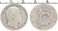 Изображение Монеты Великобритания 1 шиллинг 1910 Серебро VF Эдуард VII