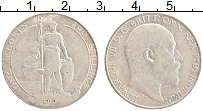 Изображение Монеты Великобритания 1 флорин 1910 Серебро VF Эдуард VII