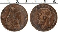 Изображение Монеты Великобритания 1 пенни 1918 Бронза XF Георг V