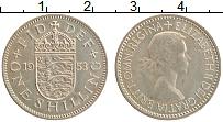 Изображение Монеты Великобритания 1 шиллинг 1953 Медно-никель XF Коронация Елизаветы