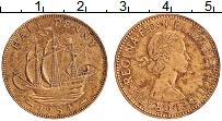 Изображение Монеты Великобритания 1/2 пенни 1954 Бронза XF