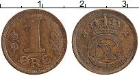 Изображение Монеты Дания 1 эре 1919 Бронза XF
