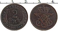 Изображение Монеты Дания 2 эре 1907 Бронза XF