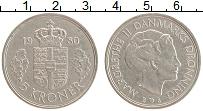 Изображение Монеты Дания 5 крон 1980 Медно-никель XF