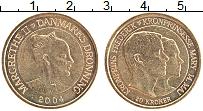 Изображение Монеты Дания 20 крон 2004 Латунь UNC-