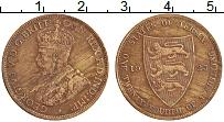 Изображение Монеты Остров Джерси 1/24 шиллинга 1923 Бронза XF
