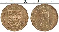 Изображение Монеты Остров Джерси 1/4 шиллинга 1964 Латунь XF Елизавета II.