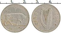 Изображение Монеты Ирландия 1 шиллинг 1962 Медно-никель XF