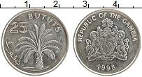 Продать Монеты Гамбия 25 бутут 1998 Медно-никель