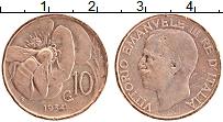 Изображение Монеты Италия 10 чентезимо 1934 Бронза XF
