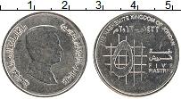 Изображение Монеты Иордания 5 пиастров 2012 Медно-никель UNC- Абдалла II ибн Хусей