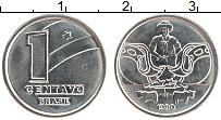 Изображение Монеты Бразилия 1 сентаво 1990 Медно-никель UNC