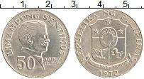 Изображение Монеты Филиппины 50 сентим 1972 Медно-никель XF