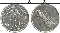 Продать Монеты Малайзия 10 сен 1990 Медно-никель