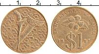 Изображение Монеты Малайзия 1 рингит 1991 Бронза XF
