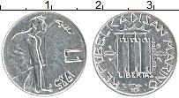 Изображение Монеты Сан-Марино 1 лира 1985 Алюминий UNC- Война с наркотиками