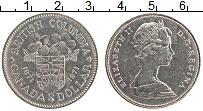 Изображение Мелочь Канада 1 доллар 1971 Медно-никель UNC- Елизавета II. 100 ле