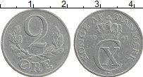 Изображение Монеты Дания 2 эре 1941 Алюминий XF