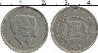 Продать Монеты Доминиканская республика 5 сентаво 1983 Медно-никель