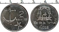 Изображение Монеты Гаити 2 эскалин 2012 Медно-никель UNC-