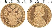 Изображение Монеты Австрия 4 дуката 1915 Золото Proof- Франц Иосиф I (КМ# 2