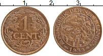 Изображение Монеты Нидерланды 1 цент 1939 Бронза XF