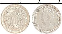 Изображение Монеты Нидерланды 10 центов 1918 Серебро XF
