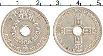 Изображение Монеты Норвегия 1 крона 1949 Медно-никель XF