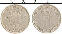 Изображение Монеты Норвегия 1 крона 1957 Медно-никель XF Хокон VII