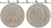 Изображение Монеты Португалия 1 эскудо 1928 Медно-никель VF