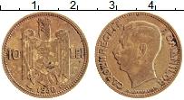 Изображение Монеты Румыния 10 лей 1930 Латунь XF