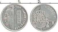 Изображение Монеты Испания 1 песета 1995 Алюминий UNC- Хуан Карлос I